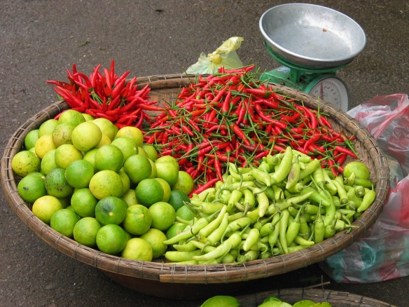 Chillies, Hue, Vietnam