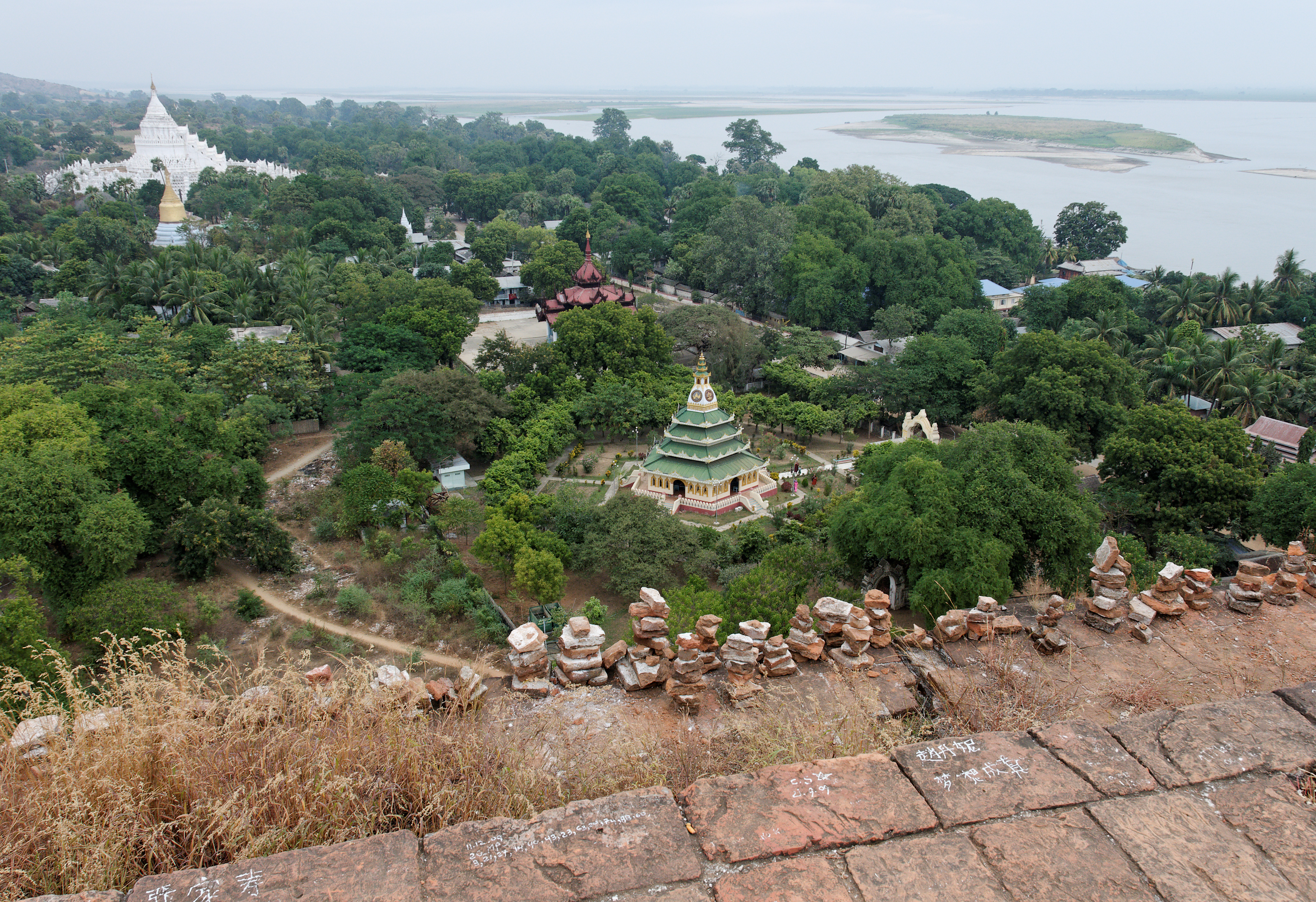 View of the Irrawaddy River