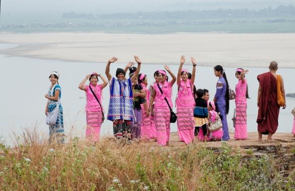 Shan pilgrims