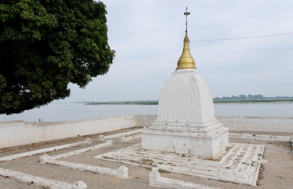 How the stupa would have appeared finished