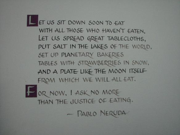 Pablo Neruda Quote FFLC