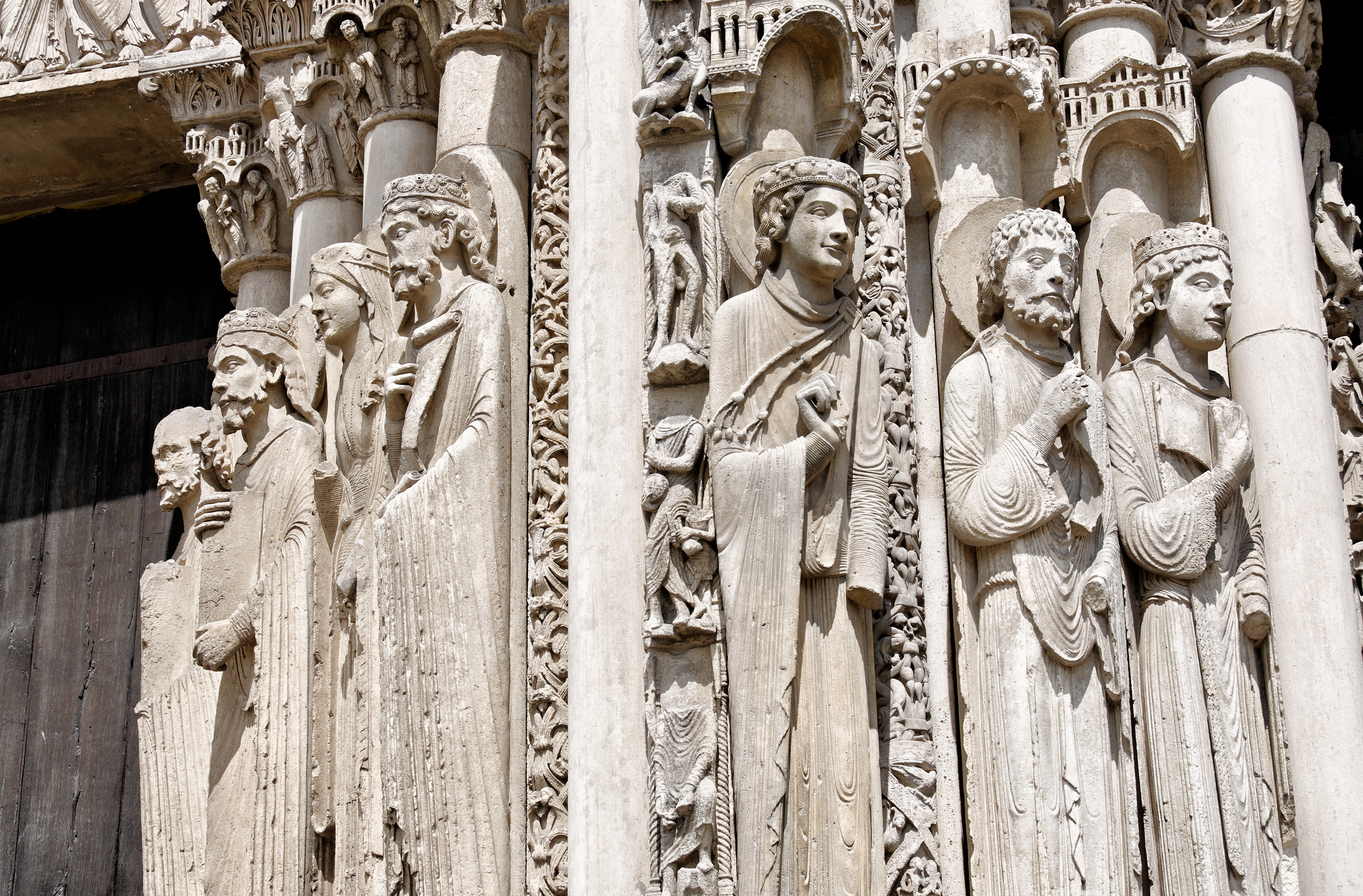 Exterior Chartres Cathedral