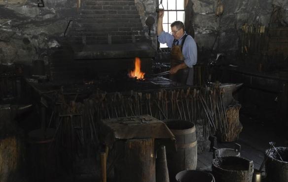 Blacksmith Shop Bolton, Massachusetts, c. 1810