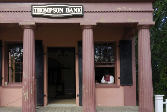 Thompson Bank Thompson, Connecticut, c. 1835