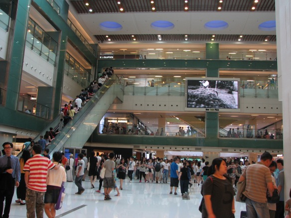 Sha Tin shopping mall
