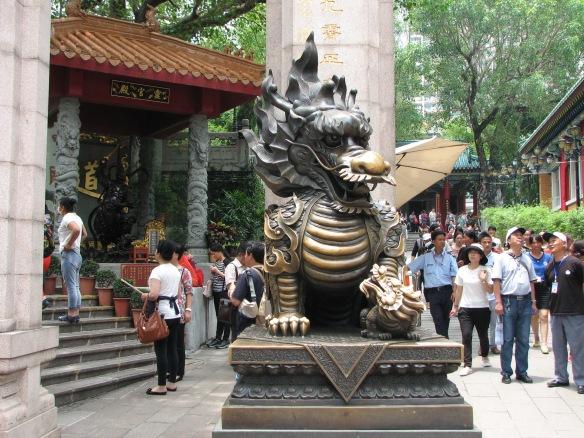 Entering the temple at Wong Tai Sin