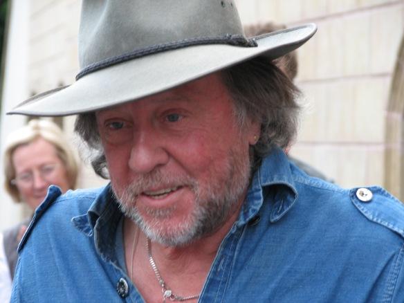 Gunter Demnig, artist and creator of the Stolperstein Project